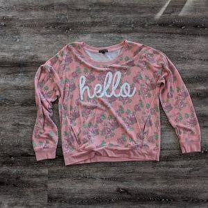 """""""Hello"""" sweatshirt"""